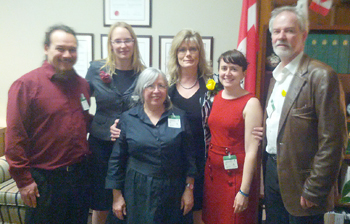 CARFAC representatives meet with Heritage Minister,  Shelly Glover