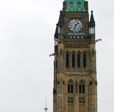 peace tower - in post